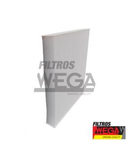 FILTRO DE AR CONDICIONADO - FORD RANGER 2.2 16V TDCI TURBO DIESEL - (XL / XLS / CD / CS) - AUTOMATICODURATEC  2012 --> WEGA