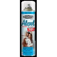 ALCOOL AEROSSOL 70%  USO GERAL 400ML / 270 GRAMAS
