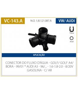 CONEXAO - GOLF A4 - AUDI A3 99/00 BORA .../02 1.6/1.8/2.0 VALCLEI